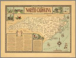 Map Of Nc State by North Carolina Old North State David Rumsey Historical Map