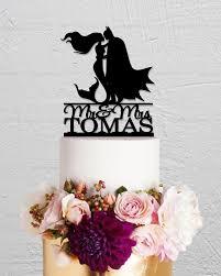 batman and mermaid cake topperwedding cake toppercustom cake