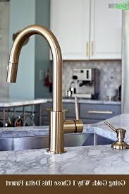 delta bronze kitchen faucets amazing delta trinsic kitchen faucet chagne bronze on