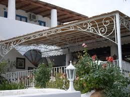tettoia ferro battuto awesome coperture in ferro per terrazzi photos amazing design