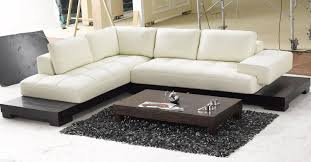 Leather Curved Sectional Sofa by Sofa Small Sectional Sofa Modern Sofa Bed Lazy Boy Sofa Brown