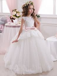 cute flower dresses 2016 with ivory in white tbdress com