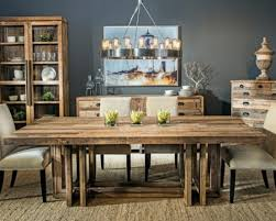 Rustic Modern Dining Room Tables Rustic Dining Room Table Bryansays