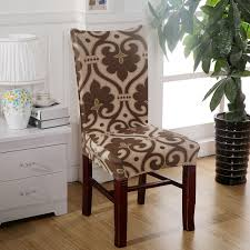 seat covers for dining chairs sure fit soft stretch spandex pattern chair covers for kitchen