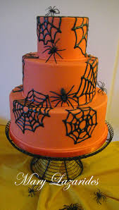 pink little cake halloween series day 25 sugarveil spider web cake