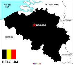 Map Of Belgium In Europe by Belgium Map Blank Political Belgium Map With Cities