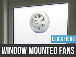 Exhaust Fans - Bathroom fan window