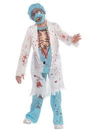 teen zombie surgeon costume 999646 fancy dress ball