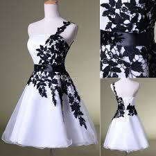 2015 short prom dresses cheap under 50 one shoulder white lace