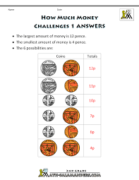 maths money worksheets solving maths challenges