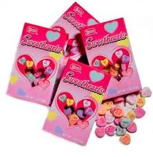 necco hearts conversation hearts from brach s from necco and from the