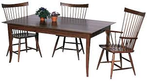 shaker style dining table shaker style dining room furniture jcemeralds co