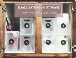 small bathroom storage u2013 under the sink u2013 nikki jayne papery