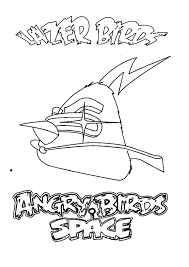 angry birds space amazing lazer bird colouring angry