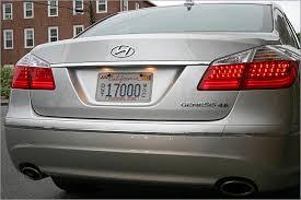 hyundai genesis back 2009 hyundai genesis 4 6 shocking competence boston overdrive