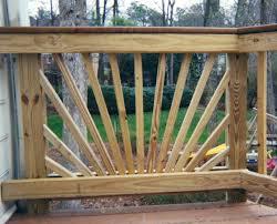 deck design patio deck railing designs the metal deck railing