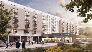 build homes german retailer aldi set to build 2 000 homes above its berlin