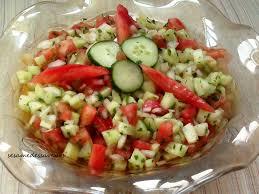 tomates cuisin s salade de concombres et tomates le sésame des saveurs