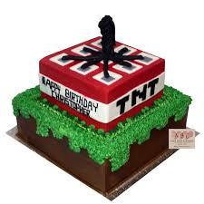 mindcraft cake 1776 minecraft tnt birthday cake abc cake shop bakery