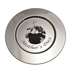 engravable platters engraving on silver steel glass and wood personalized silver