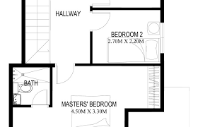 two floor plan two house plans series php 2014003