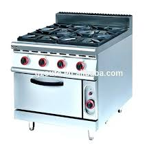 2 Burner Cooktop Electric Jackaroo 2 Burner Gas Stove Oven Combo Stainless Steel Commercial