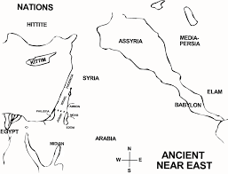 Ancient Near East Map Old Testament Survey