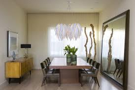 oversized floor mirror dining room table centerpiece