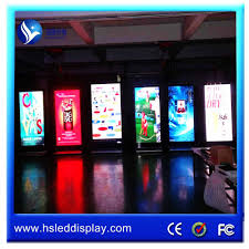 factory indoor advertising screen led panel screen led