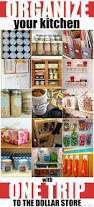 organize your kitchen with one trip to the dollar store mad in