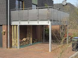 carport mit balkon balkon carports carport in holz alu stahl carport bausatz