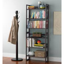 Mission Bookshelves by Folding Bookshelf Java Solid Wood Stackable Folding Bookshelf