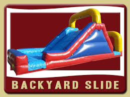 Water Slide Backyard by Backyard Water Slide Inflatable