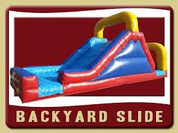 Backyard Inflatables Water Slide Rentals Inflatable