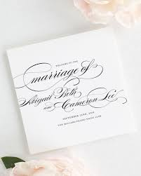 ceremony programs marriage wedding ceremony programs wedding programs by shine