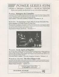 ann arbor civic theatre program on the twentieth century may 19