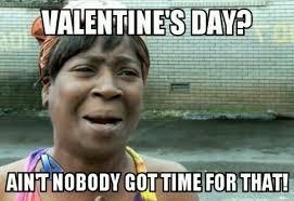 Meme Valentine - single valentines day meme calendar in pdf word excel format