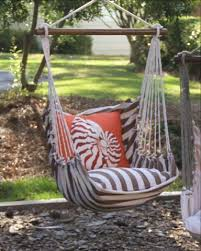 hammock swing sets complete with outdoor friendly pillows and tote