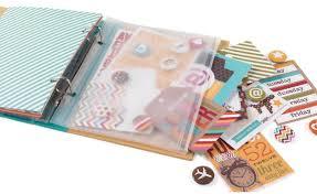 scrapbook binder sn p ring binder plastic zipper pouch 6 x8 scrapbook your