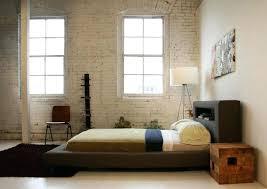 Bed Frames Montreal Minimalist Bed Frame Design Platform Bed In Walnut Home Decorating