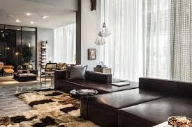 Modern Loft Furniture by Perfect Merger Between Art And Design Contemporary Apartment In