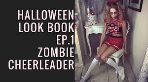 halloween photo book halloween look book zombie cheerleader by sweethearts hair youtube