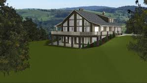 house plans sloping lot apartments front walkout basement sloping lot house plans sloped