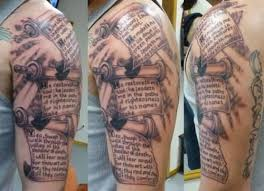 literary on scroll paper tattooshunter com