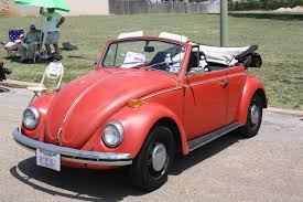 red volkswagen convertible 0810 texas vw classic