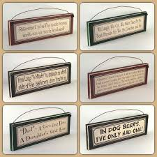 wholesale signs rustic wood plaques usa made