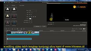 membuat teks berjalan menggunakan html cara membuat teks atau tulisan berjalan di video seperti di tv trikpos