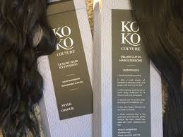 kylie hair couture extensions reviews koko couture hair transformation using clip in extensions 2