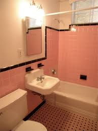 retro pink bathroom ideas bathroom small decorating ideas on tight budget kitchen color with