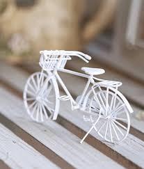 creative bike ornaments for home decor birthday gifts